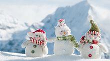 素材の画像(雪だるま 冬 きれい かわいい 季節に関連した画像)