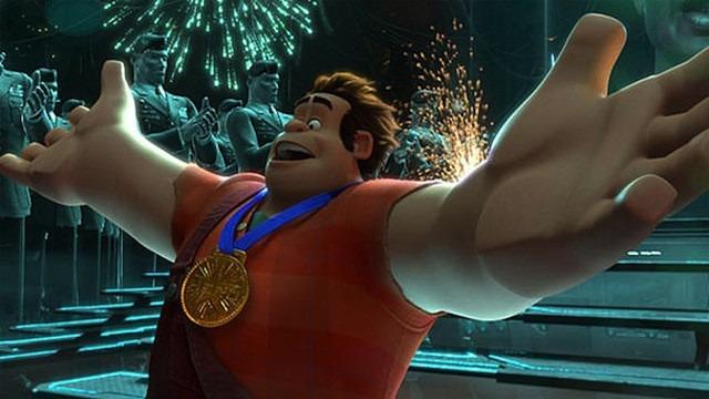 金メダルを胸に。シュガーラッシュ