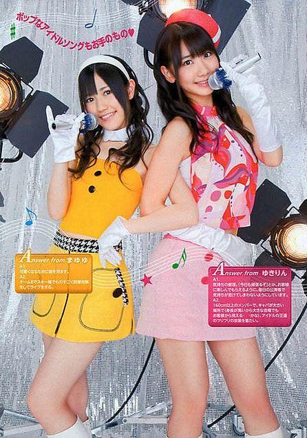 渡辺麻友 柏木由紀 AKB48の画像 プリ画像