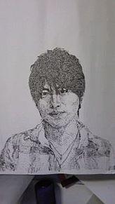 小渕さん描いてみた。の画像(点描画に関連した画像)