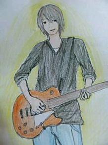 ギターを弾くニッ………ケ!!笑の画像(プリ画像)