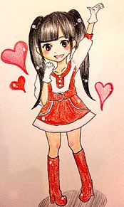 AKB48 イラスト プリ画像