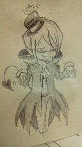 仮装メフィ 吸血鬼風? プリ画像