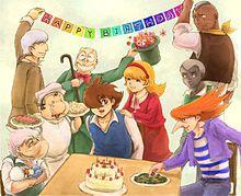 ジョーお誕生日おめでとう!!の画像(くびくろ絵に関連した画像)