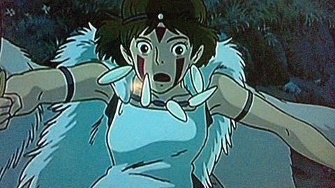 もののけ姫 Σ(゜ロ゜ノ)ノ!の画像(プリ画像)