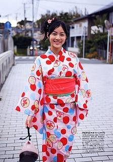 和服の松井珠理奈