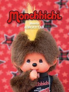 モヒカンのモンチッチです。