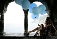 青素材背景壁紙綺麗水色blueの画像(プリ画像)