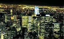 夜景風景綺麗待ち受けポエム素材景色の画像(プリ画像)