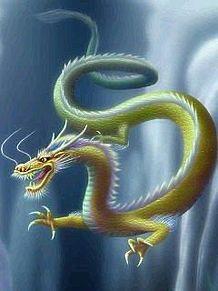 金の竜の画像(幻想的 龍に関連した画像)