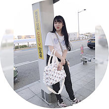 ☆2018/6/15コーデ(インスタ)の画像(韓国旅行に関連した画像)