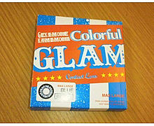 colorful GLAM BLUE プリ画像
