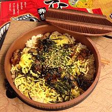 2014/11/23ディナーの画像(丼物に関連した画像)