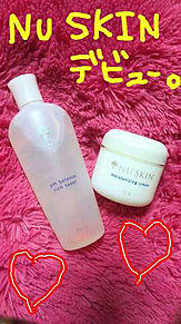 NU SKIN 化粧水、クリームの画像(あみにーに関連した画像)