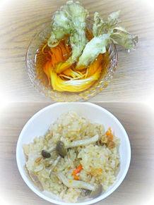 2011/8/12ディナーの画像(天ぷらに関連した画像)