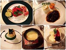2016/9/2ディナー(ホテル)の画像(コース料理に関連した画像)
