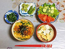 2017/5/14ディナーの画像(丼物に関連した画像)