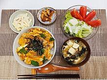 2017/4/13ディナーの画像(丼物に関連した画像)