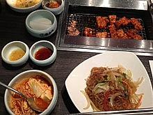 2012/6/3ディナー(新大久保)の画像(韓国料理に関連した画像)