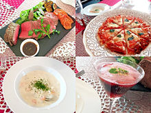 2016/12/19ディナー(お料理教室) プリ画像
