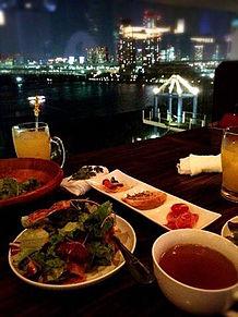 2014/8ディナー(東京・お台場)の画像(奥脇晴梨夏に関連した画像)