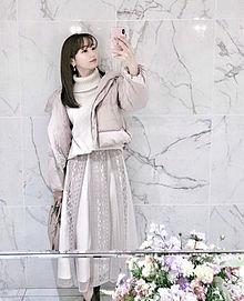 ♡2019/12/23コーデ(ノエラ)の画像(ロングスカートに関連した画像)