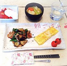 2014/4/21朝食(炒め物)の画像(イチゴに関連した画像)