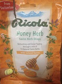 2013/4/11 Ricola Honey Herbの画像(Honeyに関連した画像)