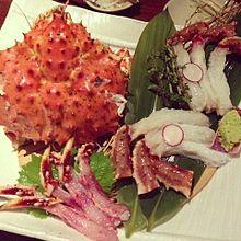 2012/12/29ディナーの画像(蟹に関連した画像)
