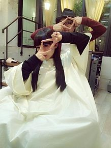 2014/10/9写メの画像(ヘアサロンに関連した画像)