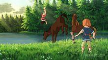 山賊の娘ローニャ*NHKアニメーション*ビルク*馬の画像(山賊の娘ローニャに関連した画像)