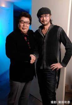 大塚明夫さんと玄田哲章さんの超豪華ツーショット画像の画像 プリ画像
