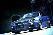 車 グランツーリスモ GT-R34の画像(プリ画像)