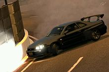 車 グランツーリスモ GT-R 34 ドリフトの画像(プリ画像)