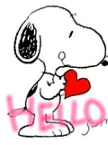 スヌーピー HELLOの画像(プリ画像)