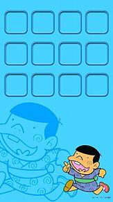 iPhone5 ホーム画面 天才バカボンの画像(プリ画像)
