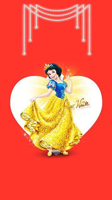 キラキラドレスの白雪姫