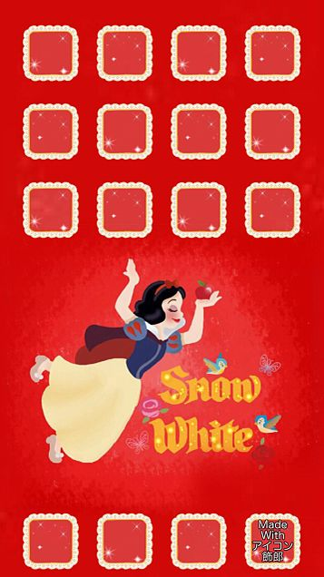 ポップなタッチの白雪姫