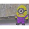 紫ミニオン プリ画像