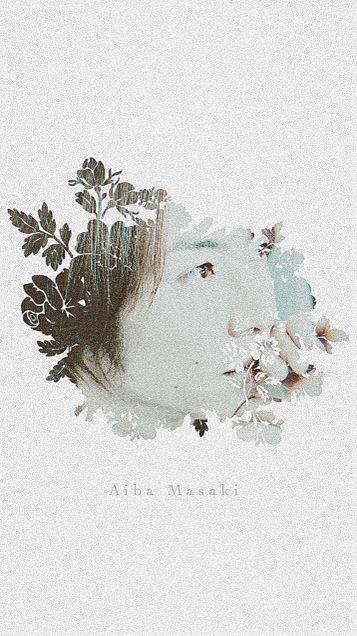相葉雅紀×ライン背景の画像(プリ画像)