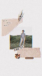 二宮和也×ライン背景 プリ画像