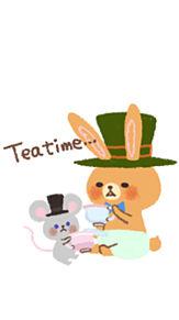 三月ウサギ プリ画像