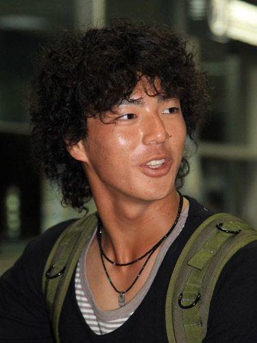 髪型がすごくなっている石川遼
