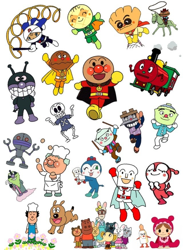 anpanman coloring pages - entertainment topics