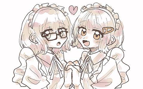 メイドちゃんズの画像(プリ画像)