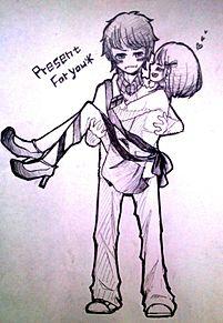 積極的彼女×シャイ彼氏 プリ画像
