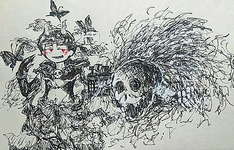 闇堕ち💕💕の画像(プリ画像)