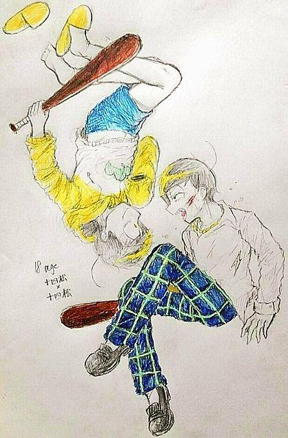 十四松と18歳の十四松の画像(プリ画像)
