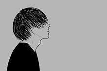横顔 素材の画像(プリ画像)