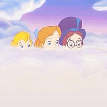 ピーターパン 雲の画像(プリ画像)
